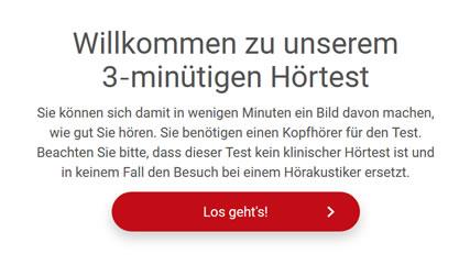 Neu – kostenloser Online-Hörtest bei Roman Wagner
